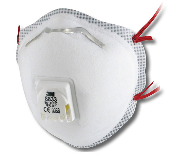 3M 8833 MASK FFP3V (5 PACK)  - 8833SP