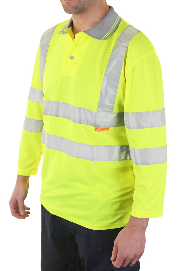 PLANT OPERATORS 3/4QTR SLEEVE POLO SHIRT - BPK3QSY