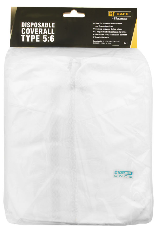DISPOSABLE COVERALL TYPE 5:6 - BS020W