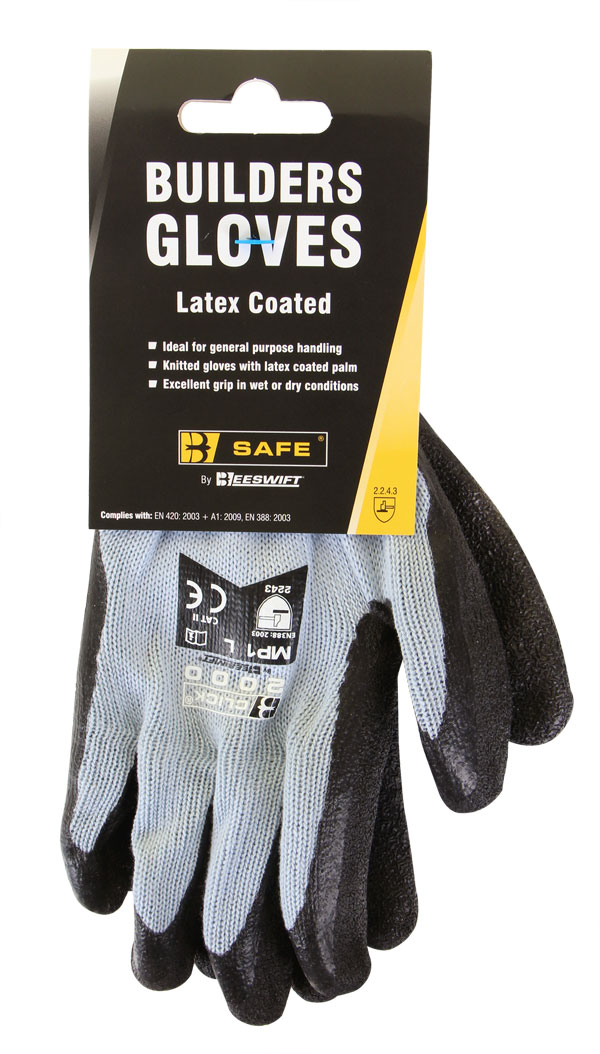 BUILDERS LATEX GLOVE - BS042