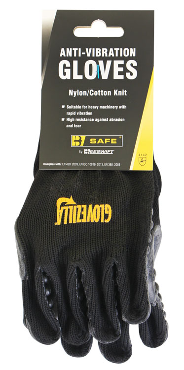 GLOVEZILLA ANTI VIBRATION GLOVE - BS054