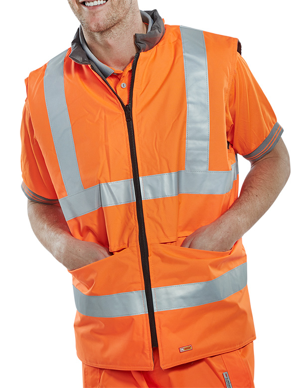 4 IN 1 BODYWARMER - BWENGOR