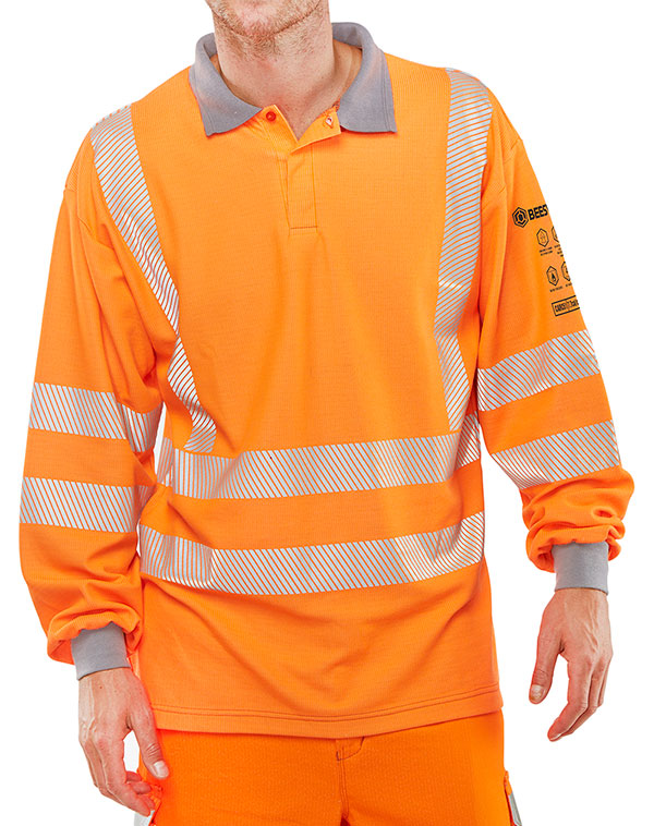 ARC FLASH GO/RT POLO SHIRT - CARC51OR