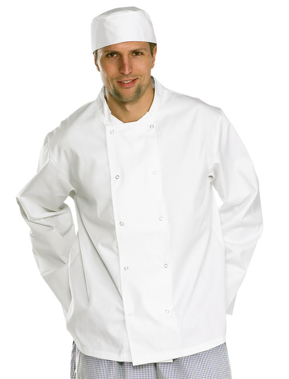 CHEFS JACKET LONG SLEEVE - CCCJLSW