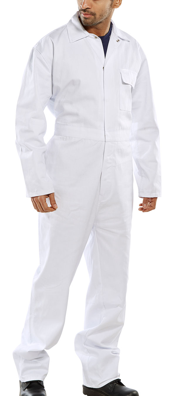 CLICK COTTON DRILL BOILERSUIT - CDBSW