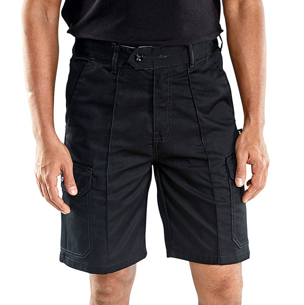 CLICK CARGO POCKET SHORTS - CLCPSBL