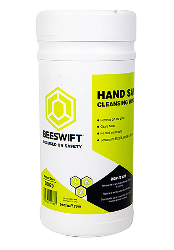 HAND SANITISING CLEANSING WIPE - CO020