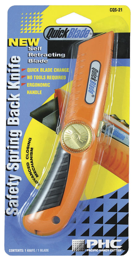 SAFETY SPRING BACK KNIFE  - CQS-21