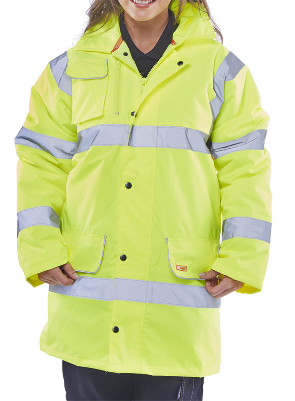 FLEECE LINED TRAFFIC JACKET - CTJFLSY
