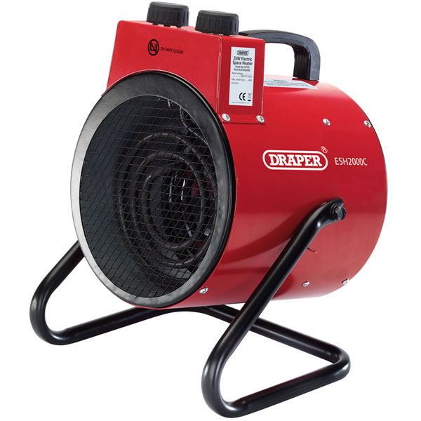 SPACE HEATER 2KW (230V) 17775  - DRESH2000C