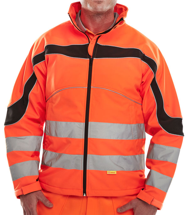 ETON HI-VIZ SOFT SHELL JACKET - ET41OR
