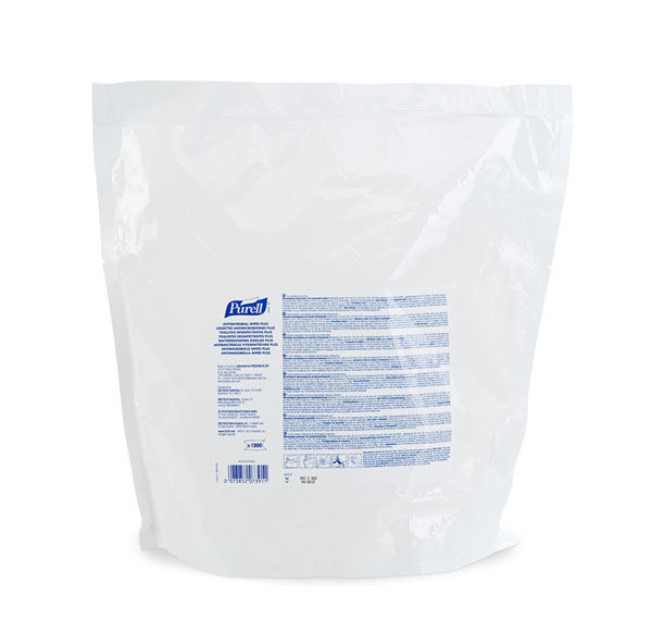 PURELL ANTIMICROBIAL WIPES 1200 REFILL - GJ9218-02