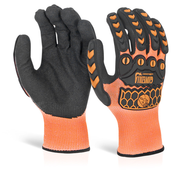 GLOVEZILLA SANDY NITRILE COATED GLOVE - GZ63OR