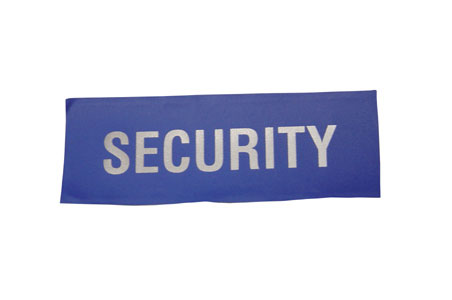 HEAT SEAL SECURITY BADGE LARGE  - HSB
