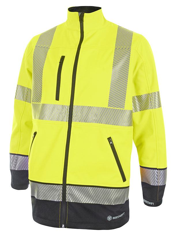 HIVIS TWO TONE SOFTSHELL - HVTT040SYN
