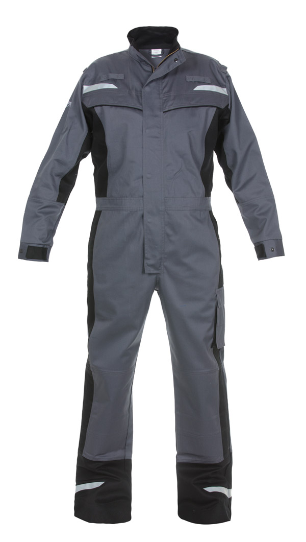 MAYEN MULTI VENTURE FLAME RETARDANT ANTI-STATIC COVERALL - HYD043484GYBL