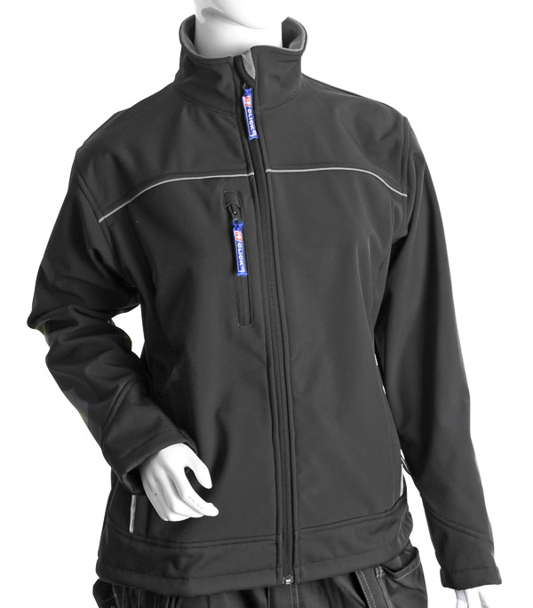 LADIES SOFT SHELL JACKET - LSSJBL