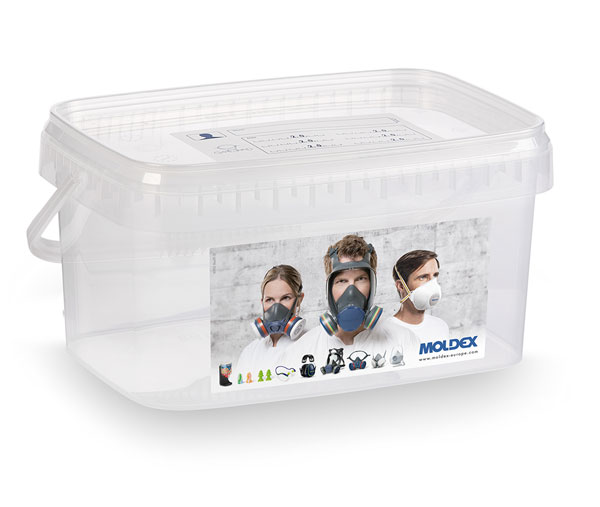 MOLDEX 7995 HALF MASK STORAGE BOX - M7995