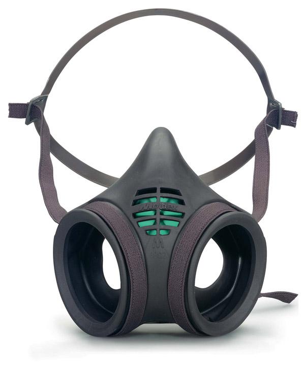 MOLDEX 8002 MASK BODY TWIN FILTER - M800