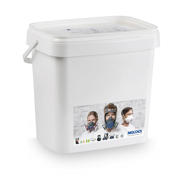 MOLDEX 9995 FULL FACE MASK STORAGE BOX - M9995