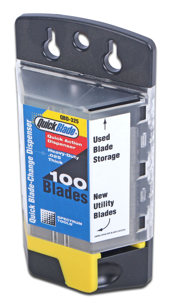 QB BLADE DISPENSER 100 BLADES - QBD-325