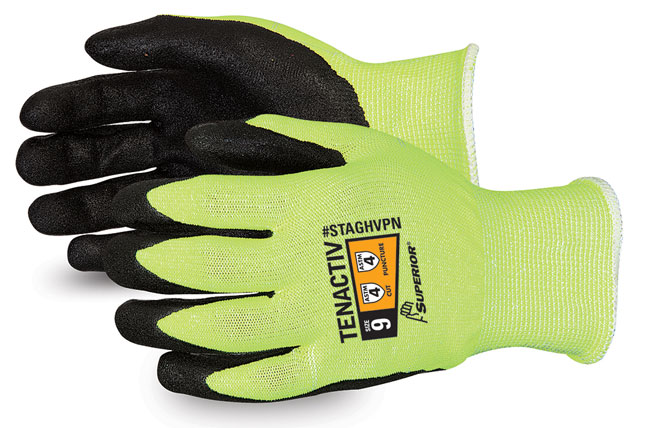 TENACTIV HI-VIZ COMPOSITE KNIT GLOVE MADE WITH MICROPORE NITRILE GRIP - SUSTAGHVPN